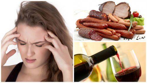 9 храни и напитки, които могат да причинят мигрена