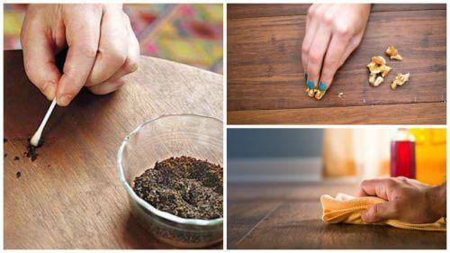 8 съвета как да заличите драскотините по вашите дървени мебелите