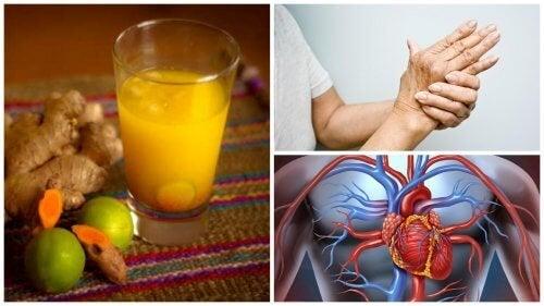 8 изключителни ползи на сока от куркума