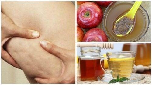 Победете целулита с мед и ябълков оцет