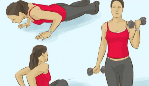 3 упражнения, укрепващи мускулите на ръцете