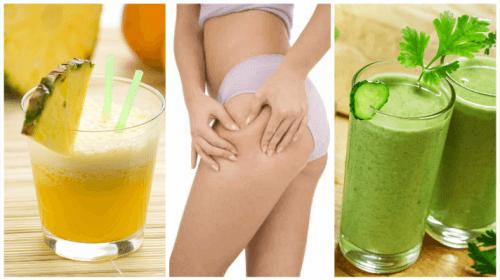 Забравете за задържането на течности с тези 5 вкусни диуретични смутита