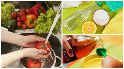 7 съвета за дезинфекция на плодове и зеленчуци