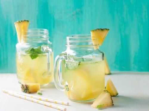 чай от ананас против инфекция в уринарния тракт