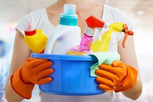 Продуктите, за поддържането на дома ви чист са вредни за здравето.