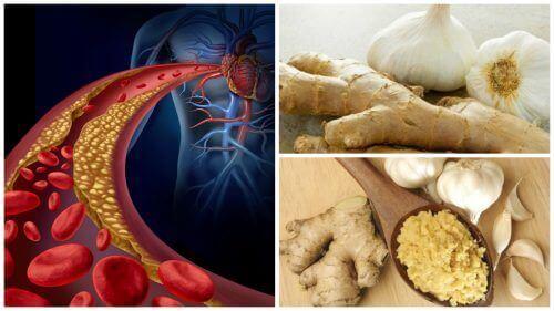 Преборете се с високото кръвно налягане и завишения холестерол с помощта на това домашно средство с джинджифил и чесън