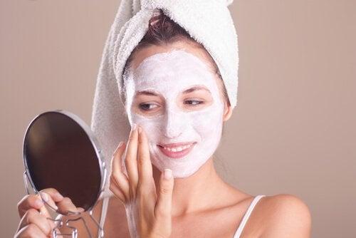 ексфолиране на кожата през менопаузата
