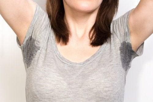 Сол за премахване на петната от пот