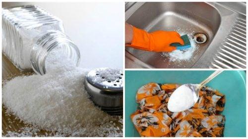 7 екологични начина за почистване със сол