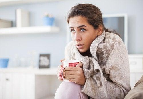 хипотиреоидизма - непоносимост към студ