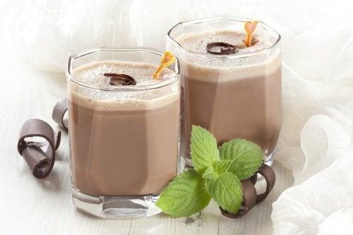 Шоколадово смути за по-добра производителност
