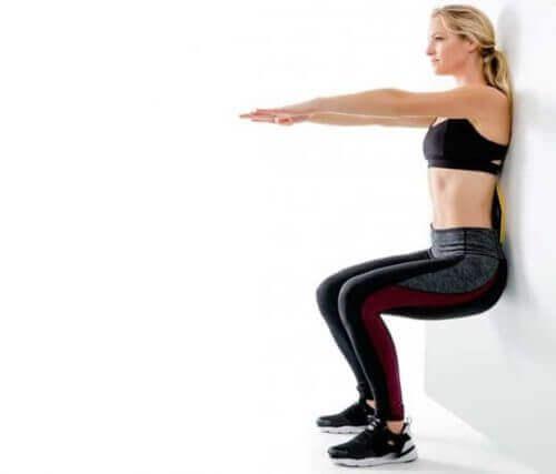 Клякания за укрепване на коленете
