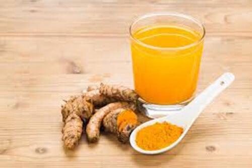 чай от куркума против инфекция в уринарния тракт