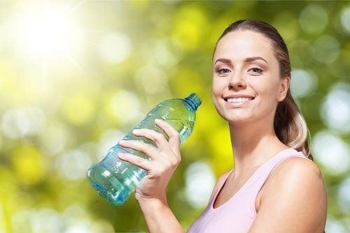 Еднодневен детоксикиращ план при задържане на течности