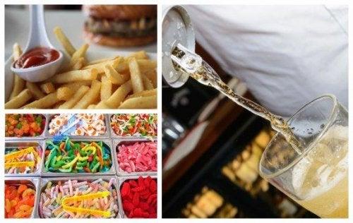 Тези 7 хранителни навици вредят на лицето ви