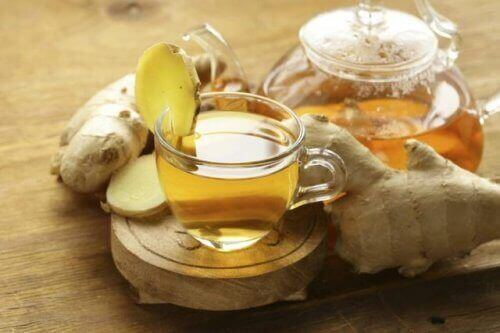 Как да изгаряте повече калории: чай от джинджифил