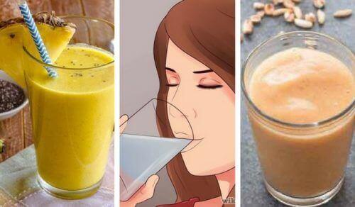 5 вкусни веган смутита, богати на растителни протеини и фибри