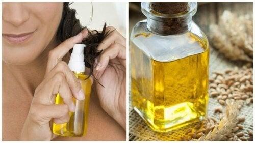 6 начина, по които маслото от пшеничен зародиш помага на косата ви