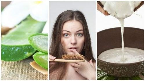 Преборете се със загубата на коса с тези 6 домашни рецепти