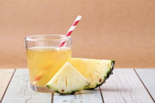 Лекарство с ананас за възстановяване на чревната флора