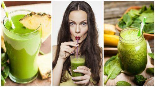 5 зелени смутита за детоксикация и отслабване