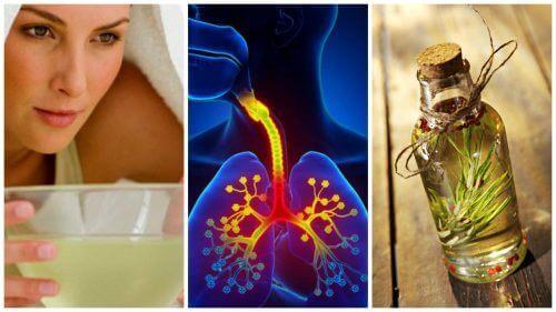 Контролирайте симптомите на бронхит с тези 6 домашни средства