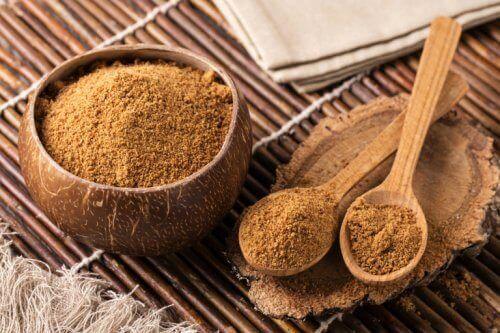 заместители на захарта - кокосова захар