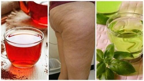Преборете портокаловата кожа с тези 6 билкови напитки