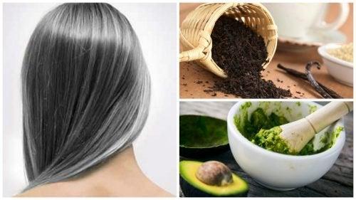 Преборете се с ранното побеляване на косата с тези 6 домашни средства