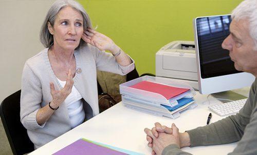 ако установите проблеми със слуха, посетете лекар