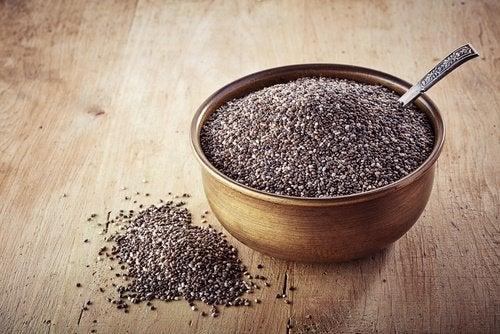 семена с чиа в купичка