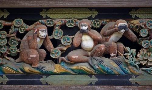 """Истинският, очарователен урок от """"Трите мъдри маймуни"""""""