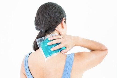 използването на невен облекчава болката