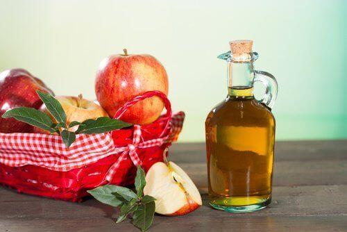 ябълков оцет за кожата по ходилата