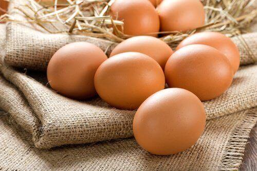 Яйца за ускоряване растежа на косата