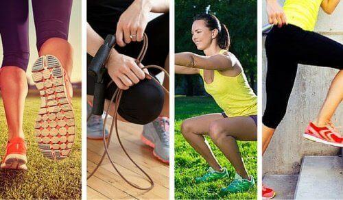 Когато се упражнявате повече, използвате по-малко от енергията си