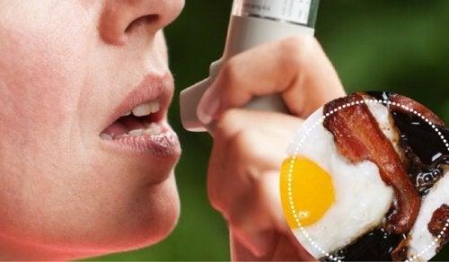 9 храни, които хората с астма трябва да избягват