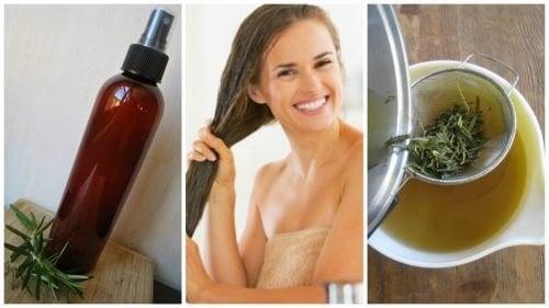 Укрепете косата с този домашен билков балсам