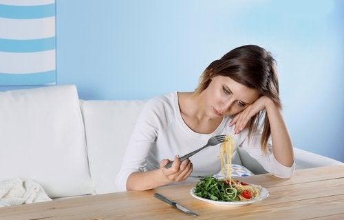 депресията при консумация на твърде много тестени храни е възможна