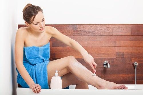 натурален крем за бръснене, който да приготвите сами