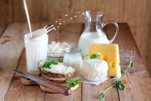 Избягвайте млечните продукти, за да премахнете целулита.
