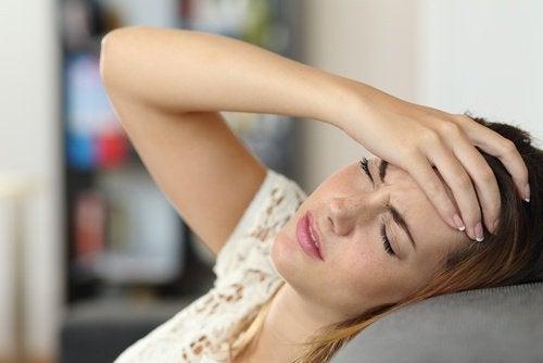 болка в главата - чест сигнал на тялото