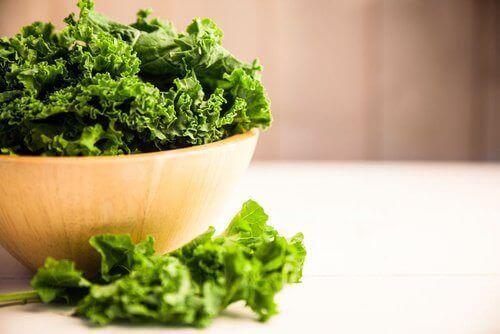 Къдравото зеле източник на значителни количества витамин Е