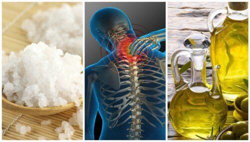 Супер лек със сол и зехтин при ставни болки