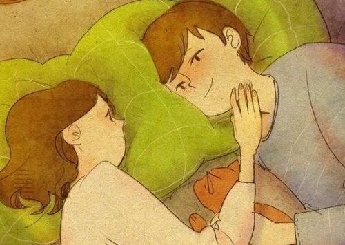 Първата любов ви променя