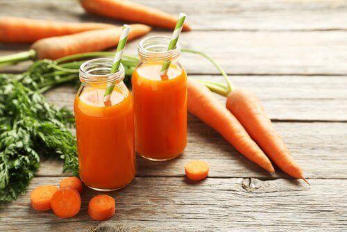 диета с моркови за прочистване на токсините