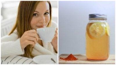Подобрете здравето си с вода с куркума и лимон