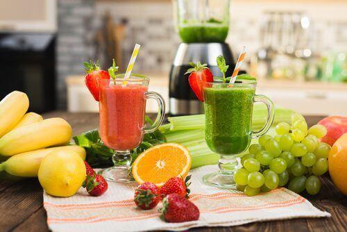 свежи зеленчуци за прочистване на организма