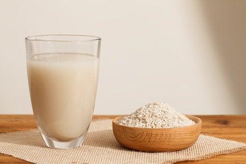 Начин на приготвяне на растителните млека: оризово мляко