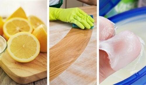 8 лесни домашни средства за почистване на дърво